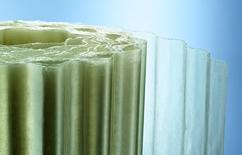 Well Und Flachbahnen Aus Glasfaserverstarktem Polyester